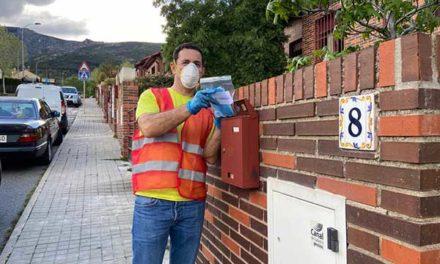 El Ayuntamiento de San Lorenzo reparte 30.000 mascarillas a domicilio