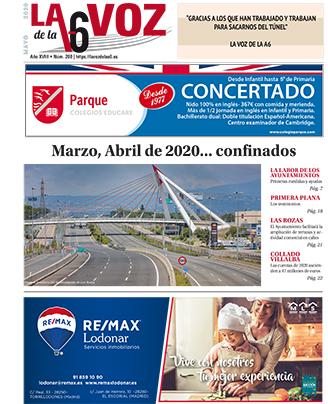 LA VOZ DE LA A6 mes de mayo 2020