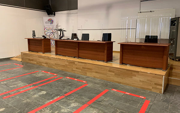 Navalcarbón se abre el lunes como centro de atención al vecino con medidas frente al COVID