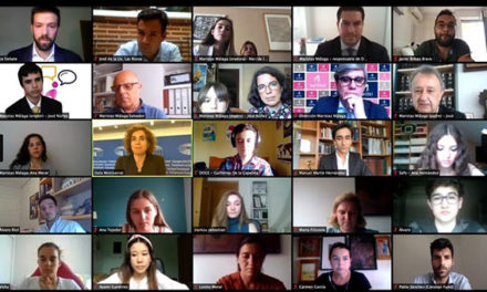 Dolors Montserrat presidió el I Torneo Nacional de Debate escolar online