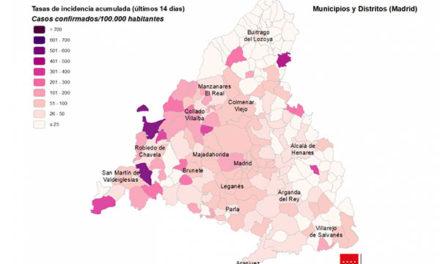 Baja el número de nuevos casos por coronavirus en los municipios del noroeste
