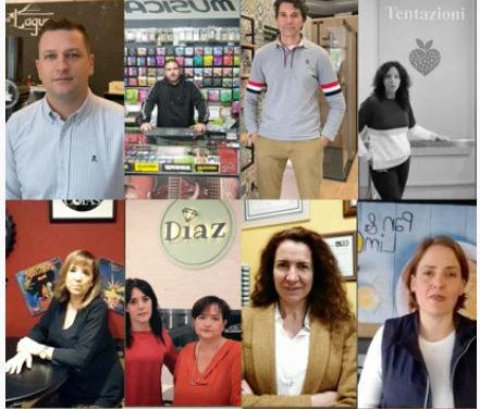 Comerciantes y empresarios de Collado Villalba participan en un vídeo promocional