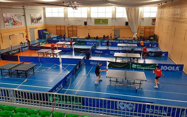 La sección de tenis de mesa de la AD Collado Mediano regresa a los entrenamientos