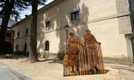 """""""Cultura y memoria"""" una escultura en San Lorenzo recuerda a las víctimas del covid-19"""