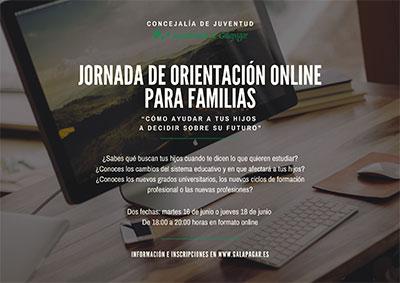 Jornada de orientación online para familias de Galapagar