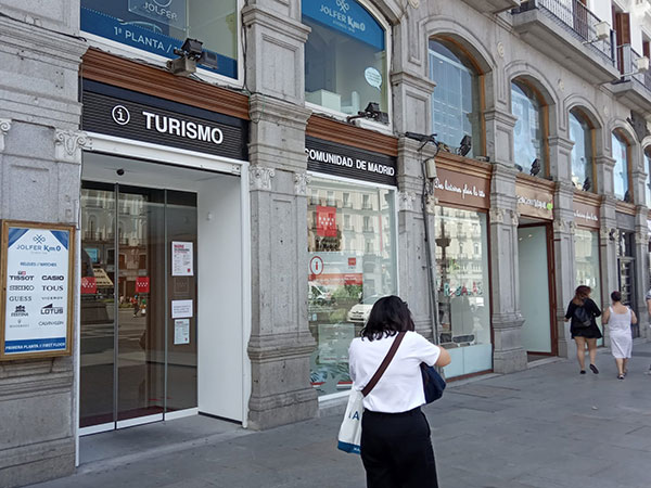 El destino Sierra de Guadarrama presente en la Puerta del Sol
