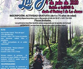 Ruta senderista para recorrer el entorno natural de La Jarosa