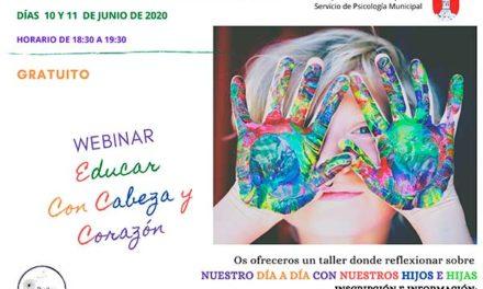 La Concejalía de educación de Guadarrama organiza un taller online para padres