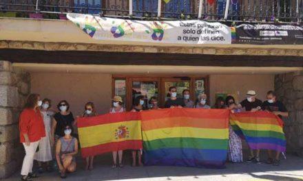 Torrelodones, en apoyo al colectivo LGTBI
