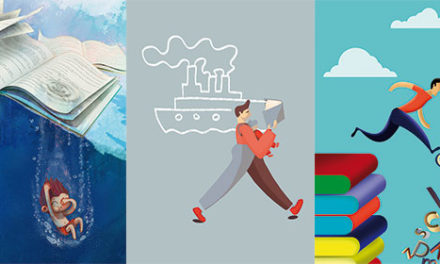 """""""Sumérgete en un buen libro"""", cartel ganador en el Certamen Las Rozas Lee 2020"""