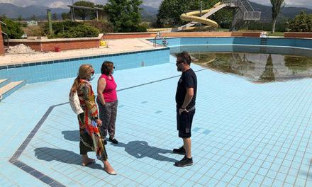 Las obras de las piscinas de verano de Collado Villalba tendrán un plazo de dos meses