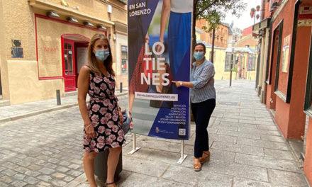 """""""En San Lorenzo lo tienes"""", el Ayuntamiento inicia una campaña para fomentar el tejido empresarial"""