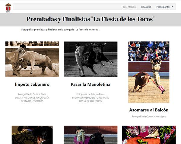 Concurso de fotografía taurina Peña Los Bukardos