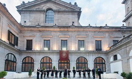 La Fundación ORCAM ofrece un homenaje a las víctimas del COVID-19 en San Lorenzo