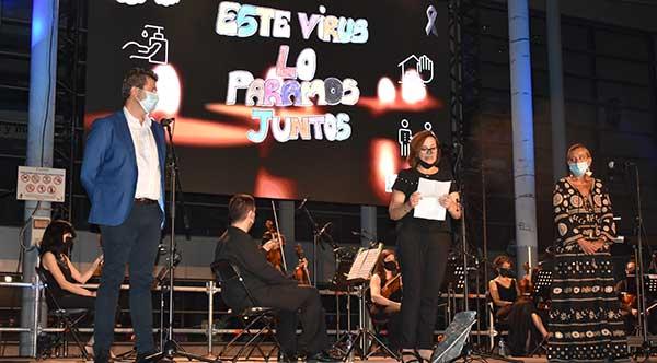 Collado Villalba celebra el II Homenaje a las víctimas del covid-19