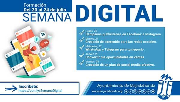 La I Semana digital en Majadahonda se celebra con una apuesta online de negocios