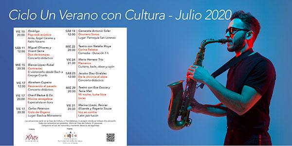 """""""Un verano con cultura"""" en San Lorenzo de El Escorial"""