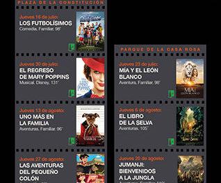 Los jueves, noches de cine en Torrelodones