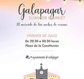 Los viernes, Galapagar Summer Market, un mercado para las noches de verano