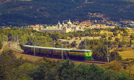 El Tren de Felipe II retoma su marcha con medidas de seguridad