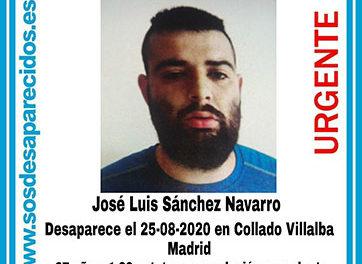 Buscan a un hombre de 27 años, desaparecido en Collado Villalba