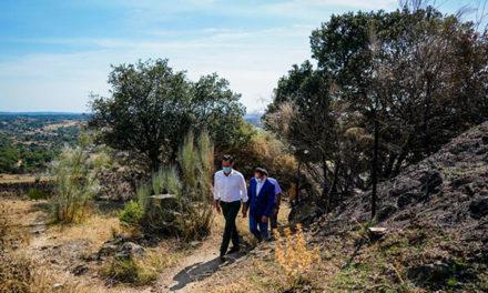 Aguado aboga por la colaboración entre instituciones para prevenir incendios
