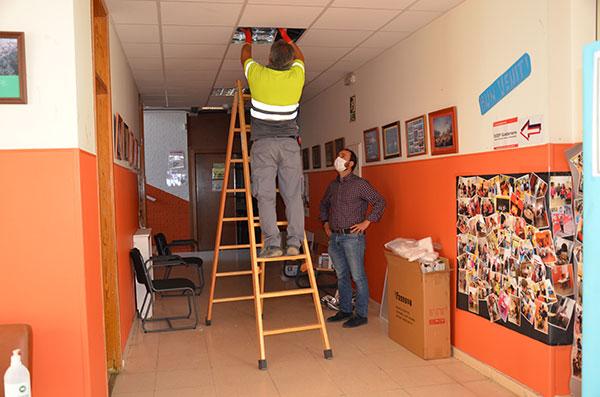El Ayuntamiento mejora la eficiencia energética del colegio Sierra de Guadarrama