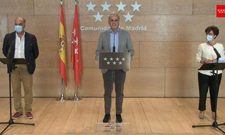 Madrid restringe las reuniones privadas a un máximo de diez personas