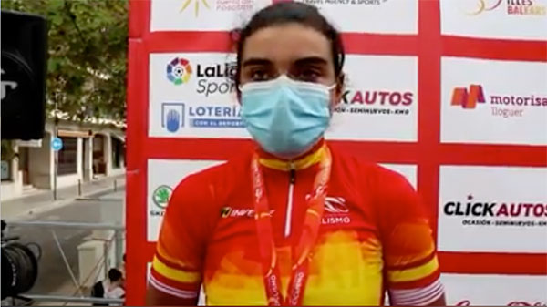 Eva Anguela se proclama campeona de España Junior