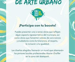 Los jóvenes de Galapagar podrán participar en un mural colectivo de arte urbano