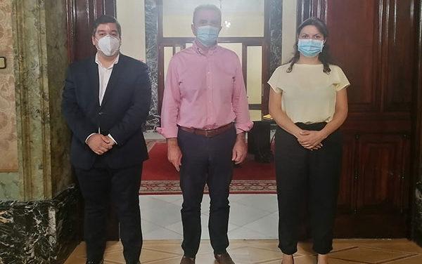 Alcalde y concejala de Seguridad de Galapagar solicitan al delegado de Gobierno más efectivos de la Guardia Civil