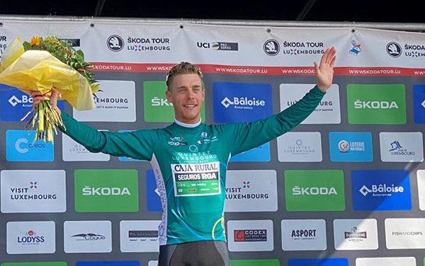 El ciclista galapagueño Sergio Martín logra el maillot de montaña en Luxemburgo