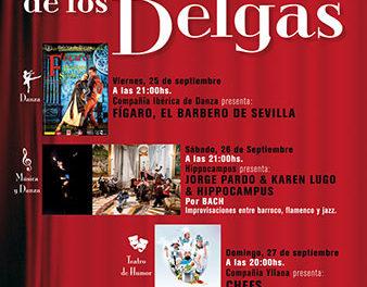 Se aplazan los espectáculos previstos para este fin de semana en la Plaza de Los Belgas