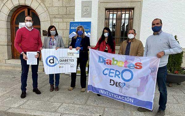 """Municipios de la Sierra de Guadarrama se suman al reto """"Kilómetros por la diabetes"""""""