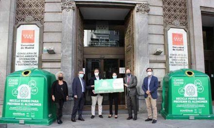 La campaña de Ecovidrio recaudó cerca de 6.000 euros para los enfermos de Alzheimer