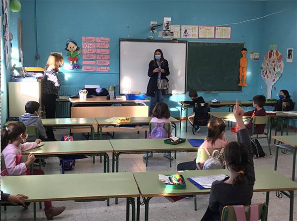 El Ayuntamiento de Majadahonda imparte charlas de prevención COVID a cerca de 6.000 alumnos