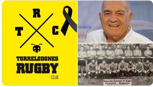 Fallece Antonio Martín Sánchez, un histórico del rugby