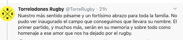 Antonio Martín Sánchez Torrelodones Rugby