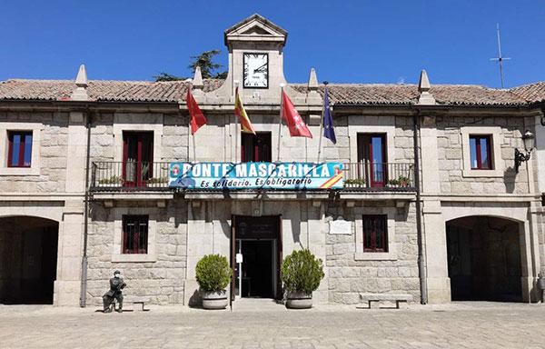 La tasa de incidencia en Guadarrama de 916,9 se debe a un brote en una residencia de mayores