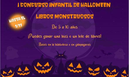 """La Concejalía de Cultura de Galapagar organiza el I Concurso infantil """"Libros monstruosos"""""""