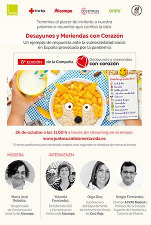 desayunos y meriendas #concorazon