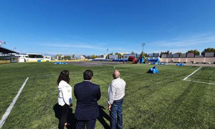 Obras en el campo de fútbol El Chopo por un importe de 230.000 euros