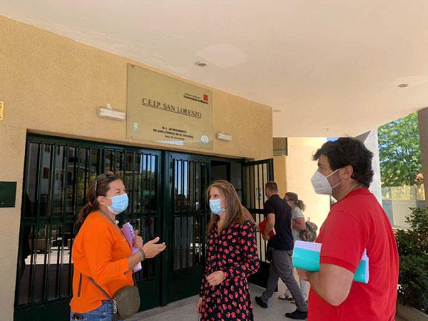 La Concejalía de Educación de San Lorenzo hace balance del inicio del curso escolar