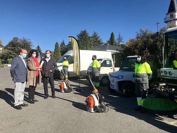 El Escorial: Los vecinos de Los Arroyos y Las Suertes tendrán un servicio de limpieza exclusivo