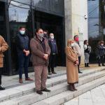 Collado Villalba: lazos a favor de la igualdad en los edificios municipales