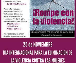 Minuto de silencio en Guadarrama por la eliminación de la violencia contra la mujer