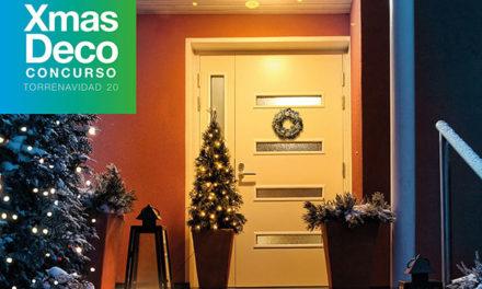 Tres vecinas ganan el concurso de fachadas navideñas de Torrelodones