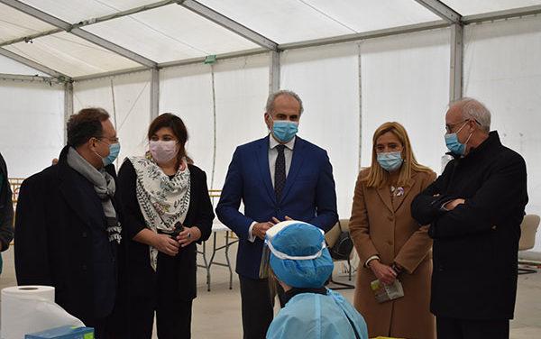 Las Rozas será uno de los municipios donde se realizarán los test de antígenos