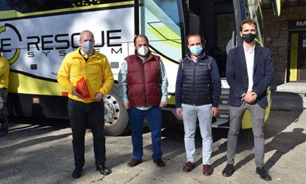 """La empresa guadarrameña E-Rescue, premio """"Ponle freno"""""""