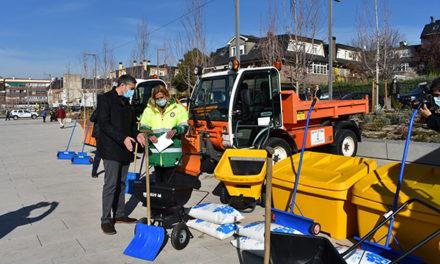 Un operativo de 200 personas actuará en el Plan de inclemencias invernales de Collado Villalba